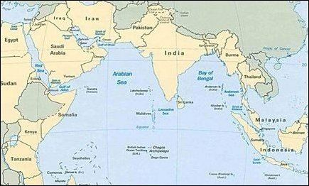 Middle East and Indian Ocean